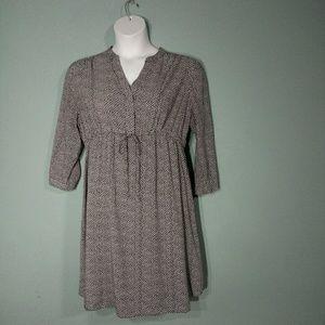 Gap Design & Craft Drawstring Waist Dress